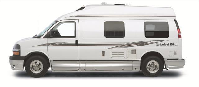 Camper Vans Floor Plans