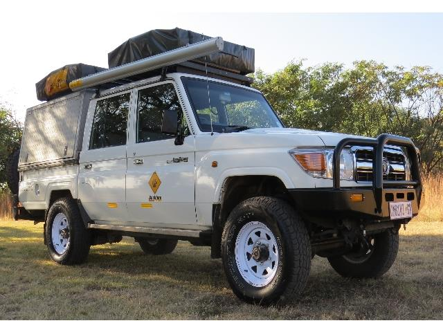 Bush Landcruiser 4 Berth Camping (CruC4)