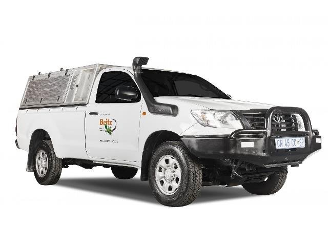 Britz SUV - Toyota Single Cab: 4x4 (BTSC)
