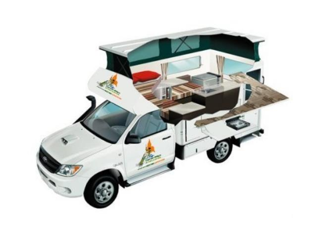 The 2 Berth Bush Camper 4WD