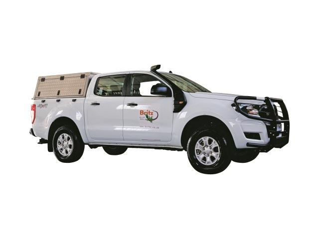 Britz SUV - Ford Double Cab: 4x4 (BFDC)