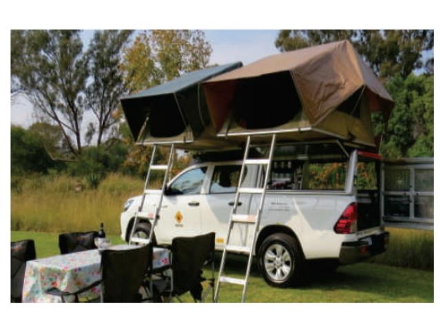 Bush Hilux 4 Berth Double Cab Camping (HilAC)