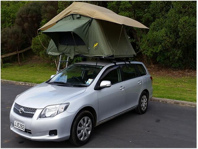 The Stationwagon + Roof Tent